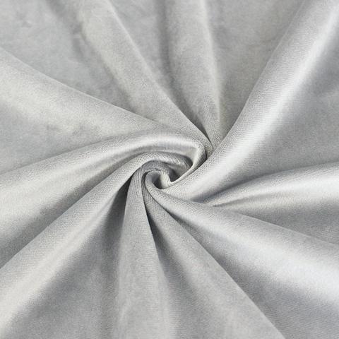 Бархат светло-серый оптом. Ш - 300 см. Арт. YB777-9