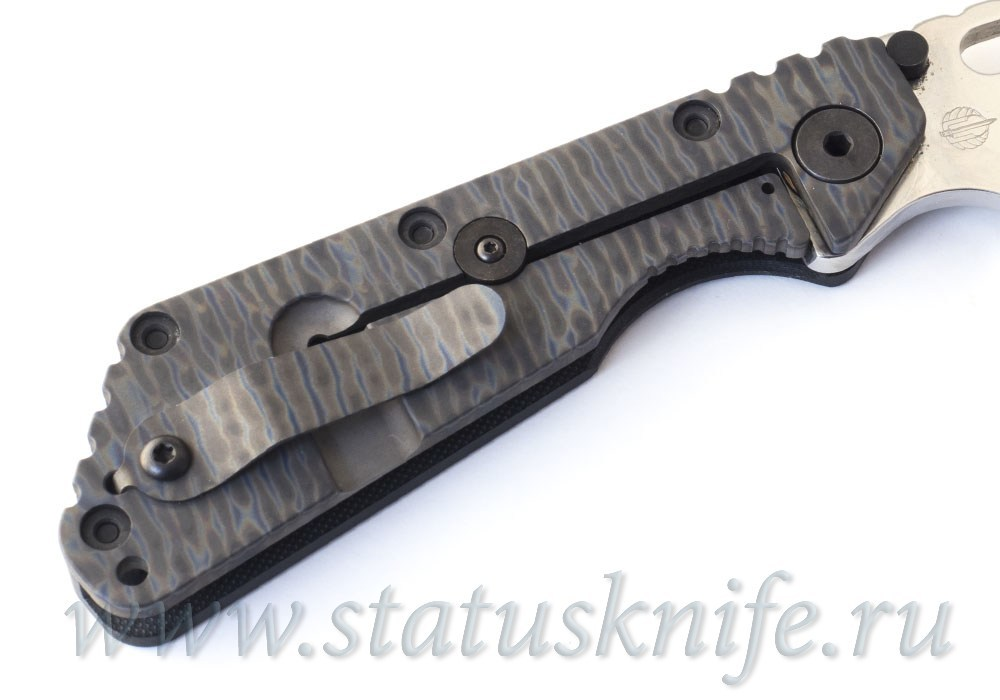 Нож Strider SMF 154CM stonewash - фотография