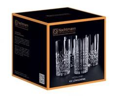 Набор из 4 хрустальных стаканов Highland, 375 мл, фото 3