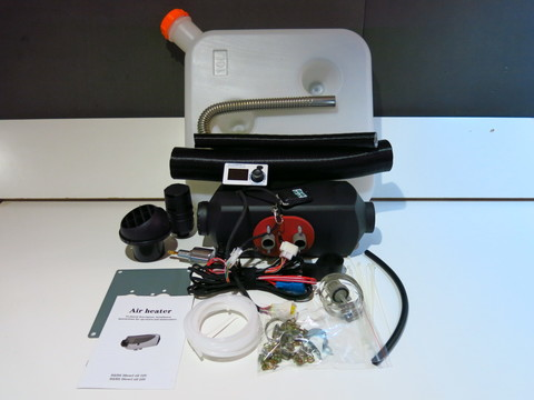 Автономный отопитель  12 вольт 2 кВт Пульт A2