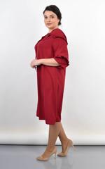 Тутсі. Елегантна сукня великих розмірів. Бордо.