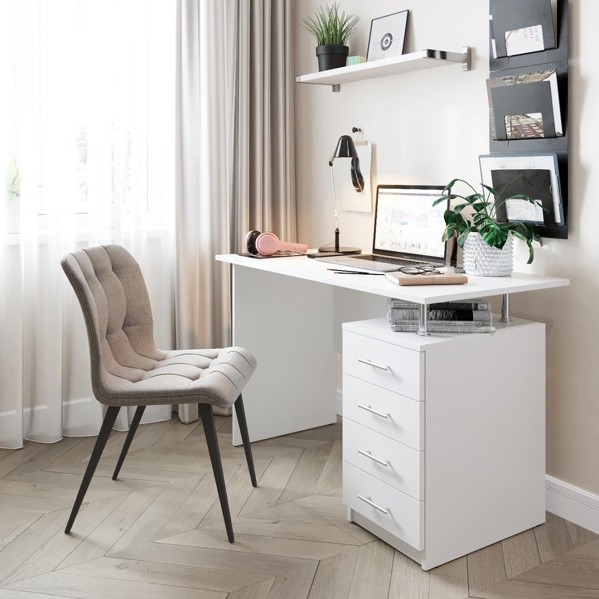 Письменный стол ДОМУС СП005 (белый)