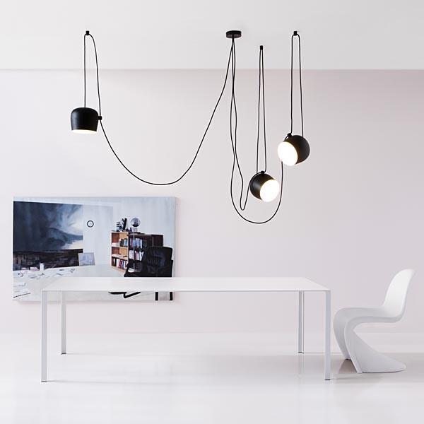Подвесной светильник копия AIM by Flos (1 плафон, белый)