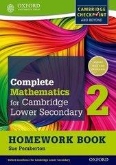 Mathematics for Cambridge Secondary 1, Homework Book 2 Oxford University Press