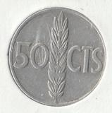 K13062 1966 Испания 50 сентимо