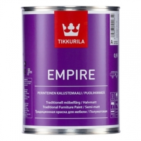 Tikkurila Empire / Тиккурила Эмпайр краска для мебели