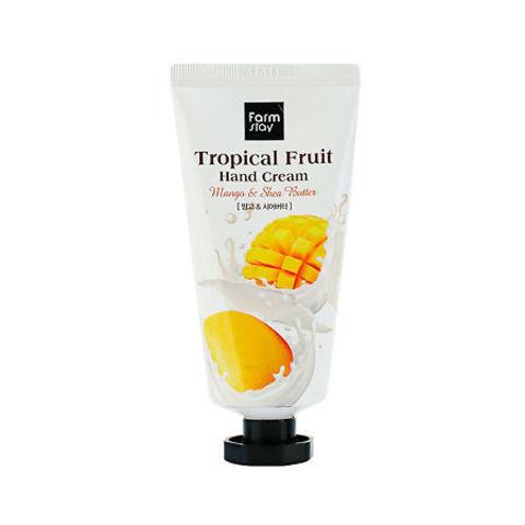 FarmStay Tropical Fruit Hand Cream крем для рук с маслом ши и манго