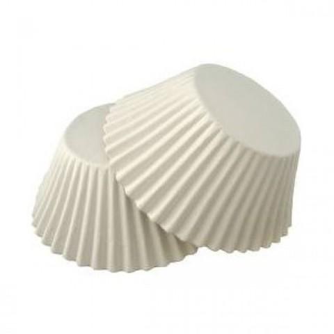 Капсулы для конфет белые, 30х20 мм, 100 шт