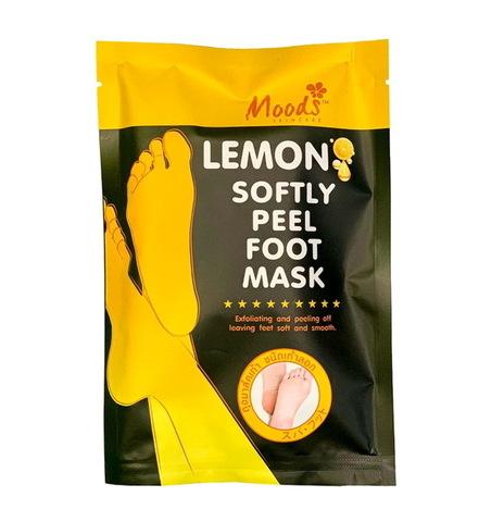 Носочки для педикюра Lemon Softly Peel Foot Mask Moods, 1 пара.