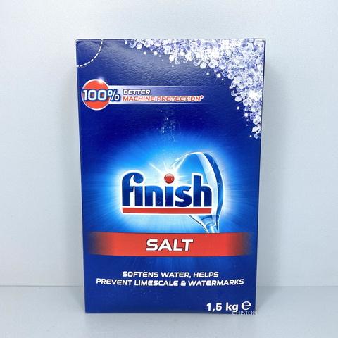 Соль для посудомоечной машины Finish 1,5 кг