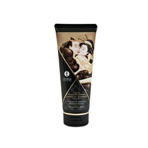 Shunga Массажный крем для тела Пьянящий шоколад серии Необыкновенные поцелуи, 200ml