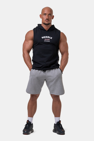Мужские шорты Nebbia Legend-approved shorts 195 light grey