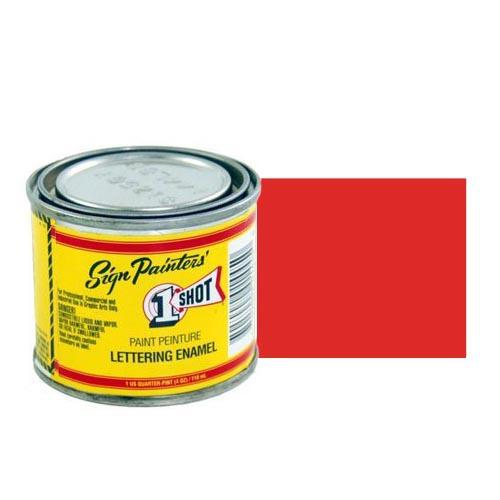 Эмали для пинстрайпинга Эмаль для пинстрайпинга 1 Shot Огненно-красный (Fire Red), 118 мл FireRed.jpg
