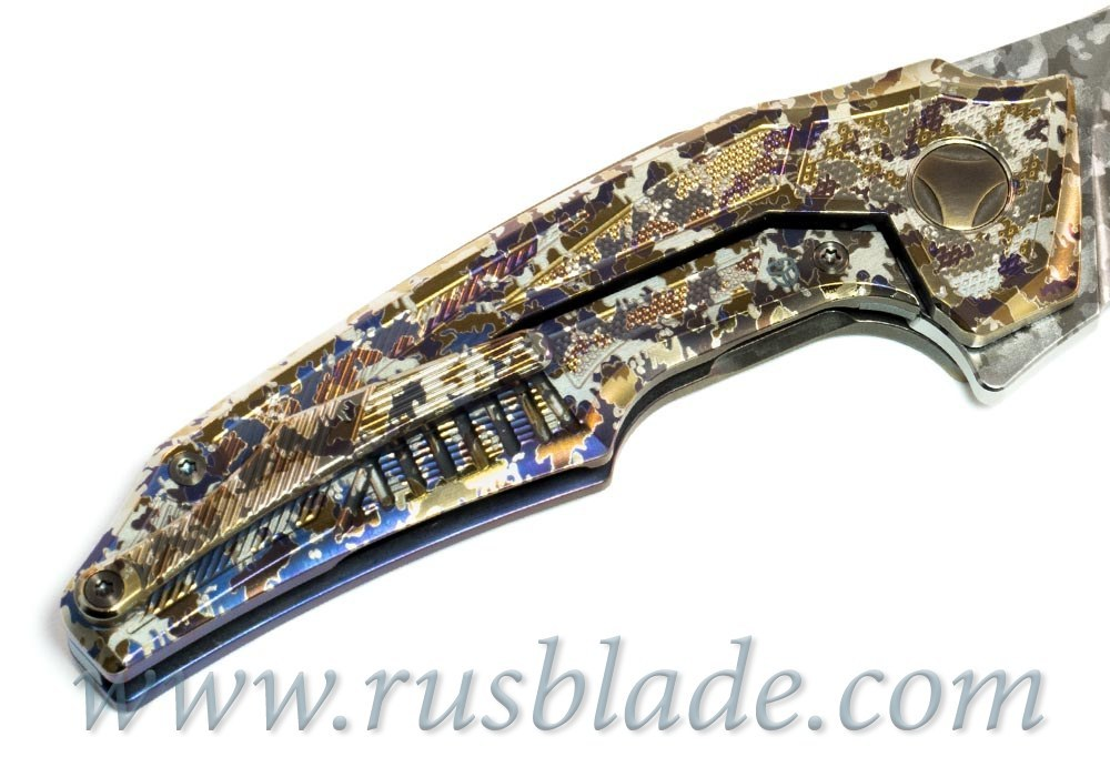 Muscle Custom Camo Tactical CKF/Bharucha Knife - фотография