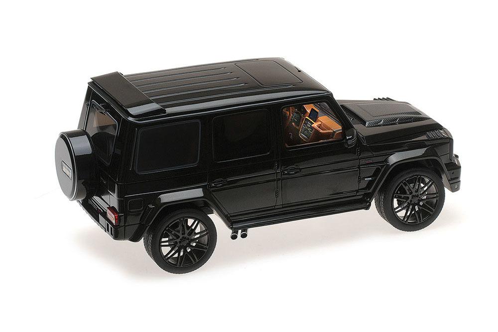 Коллекционная модель MERCEDES-BENZ BRABUS 850 6.0 BITURBO WIDESTAR AUF BASIS MERCEDES AMG G 63 2015 BLACK