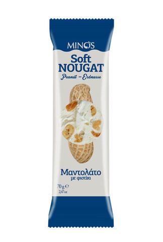 Нуга с арахисом Minos 70 гр.