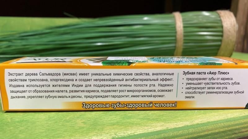 Зубная паста Мисвак и Мята Ayur Plus 100г