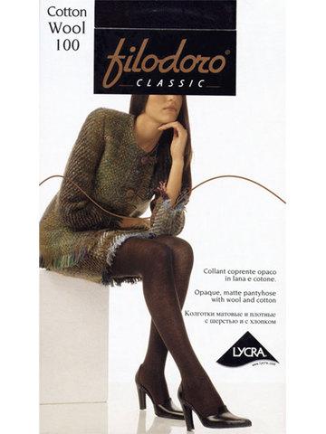 Женские колготки Cotton Wool 100 Filodoro