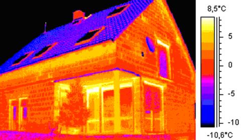 Тепловизионное обследование ограждающих конструкций, трансформаторных подстанций и т.д.