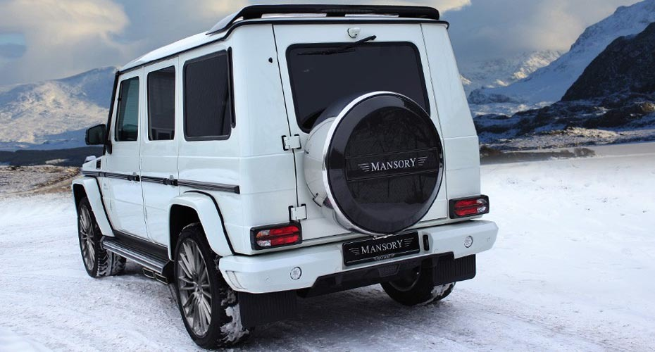 Обвес Mansory для Mercedes W463