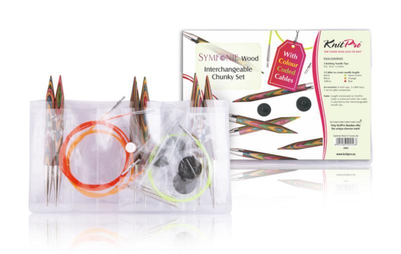 KnitPro Набор съемных спиц Symfonie Chunky Set 20603
