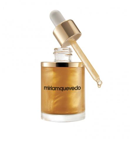 Масло для волос с золотом 24 карата / Miriamquevedo The Sublime Gold Oil