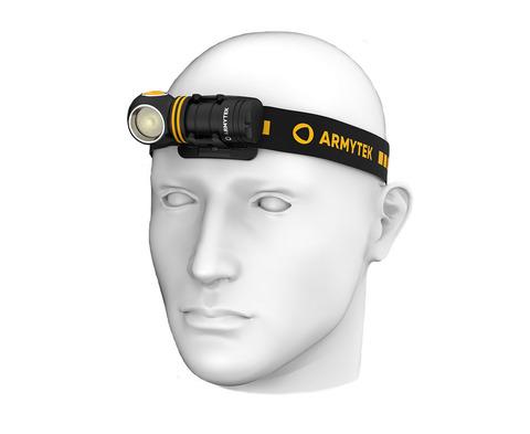 Мультифонарь светодиодный Armytek Elf C1 Micro USB+18350, 930 лм, теплый свет, аккумулятор