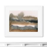 Marina Sturm - Репродукция картины в раме Lake in late autumn