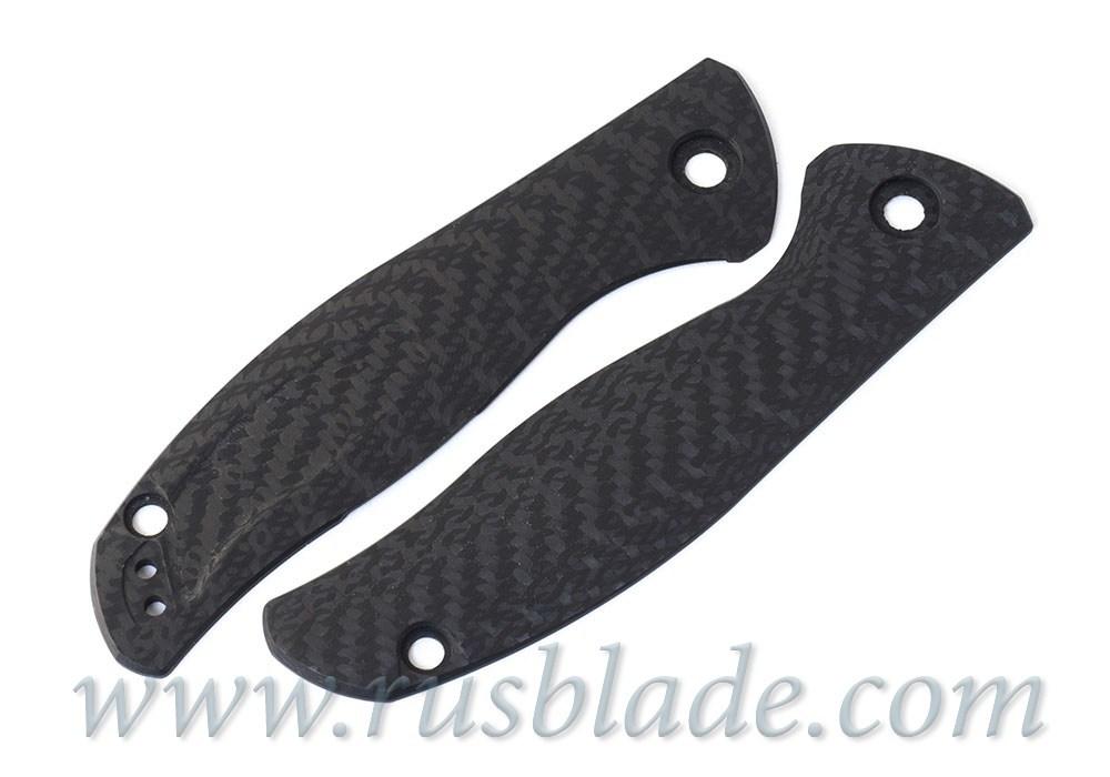 Shirogorov Set F3 СF black + G10 black handle scales - фотография