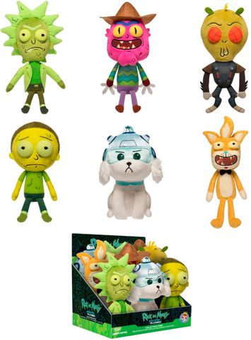 Фигурка плюшевая Funko Galactic Plushies Rick and Morty W2 9pc