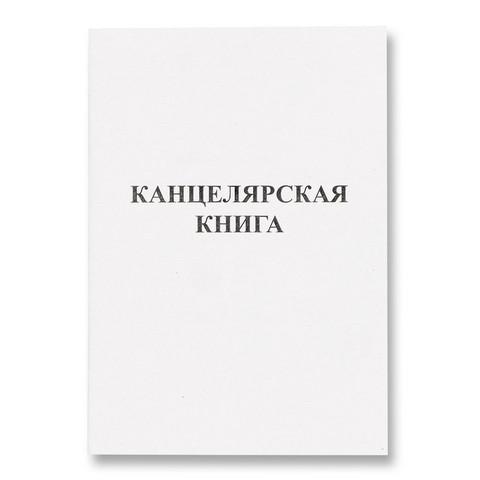 Книга учета бухгалтерская офсет А4 48 листов в линейку на скрепке (обложка - картон)