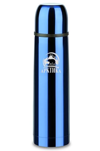 Термос Арктика (0,5 литра) с узким горлом классический, синий