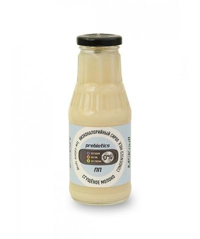 Сироп MSK null Сгущёное молоко 330мл б/глют б/сахара
