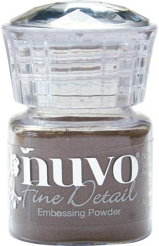 Пудра для эмбоссинга NUVO - copper blush - detail