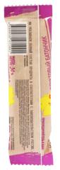 NUTBERRY Фруктовый батончик с имбирём и мёдом 30г