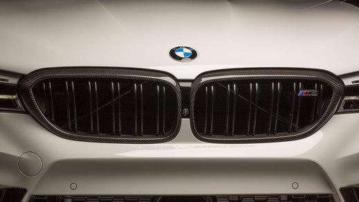 Карбоновые рамки решетки радиатора для BMW M5 F90