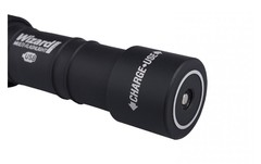 Налобный фонарь Armytek Wizard Pro Magnet USB XHP50 (тёплый свет) + 18650 Li-Ion