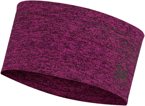Повязка спортивная светоотражающая Buff Headband Dryflx Pump Pink фото 1