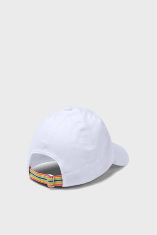 Детская белая кепка Girls Patch Armour Cap Under Armour