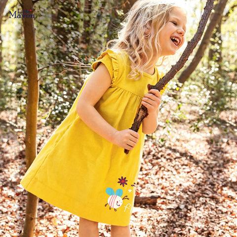 Платье для девочки Little maven Пчёлки
