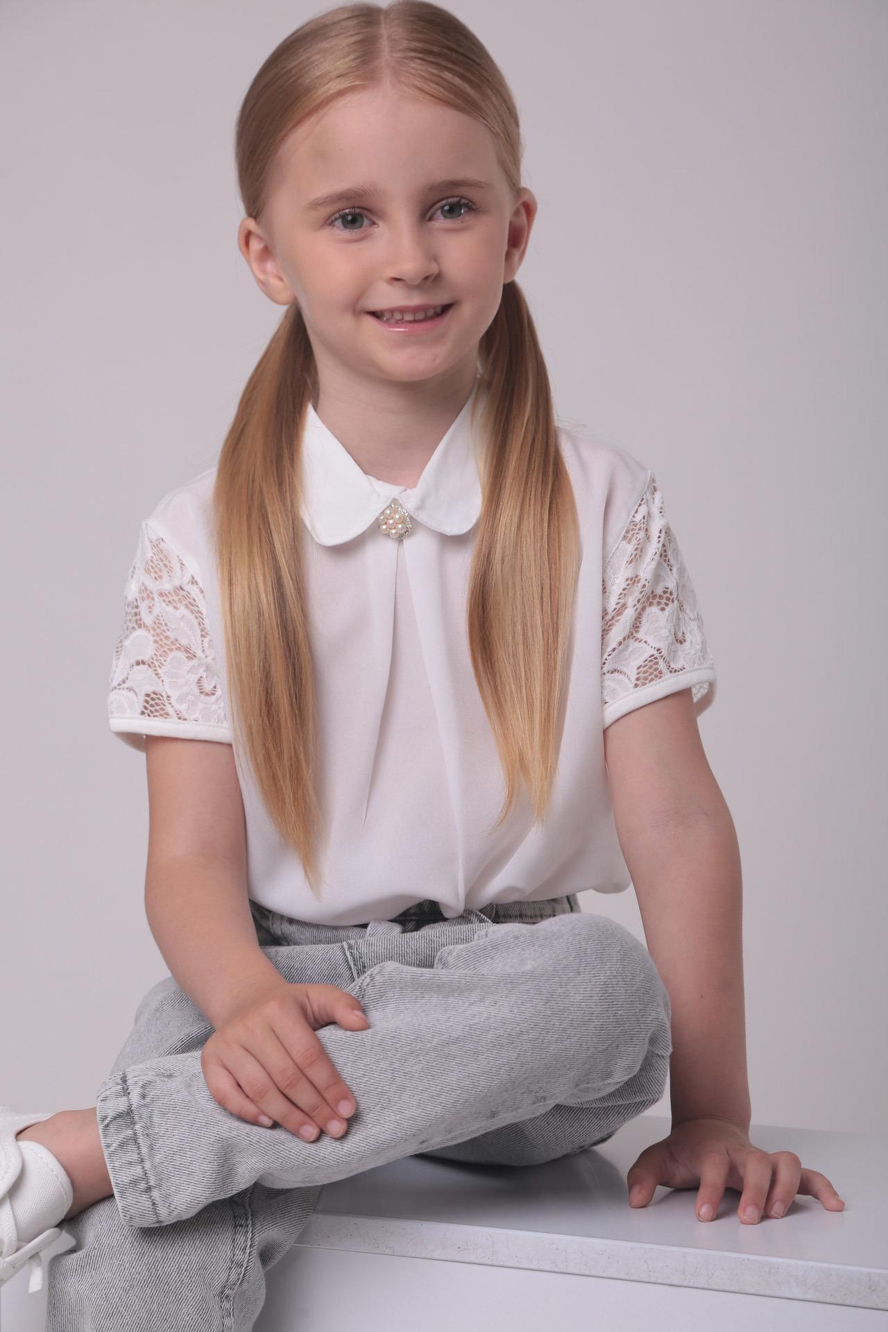 Блуза для девочки BlueLand Турция, 2176 (128-164)