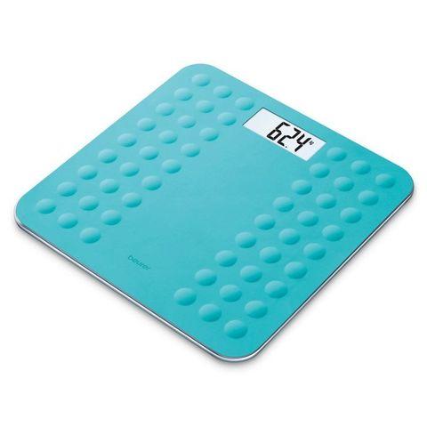 Весы напольные электронные Beurer (B-GS300D) макс.180кг бирюзовый