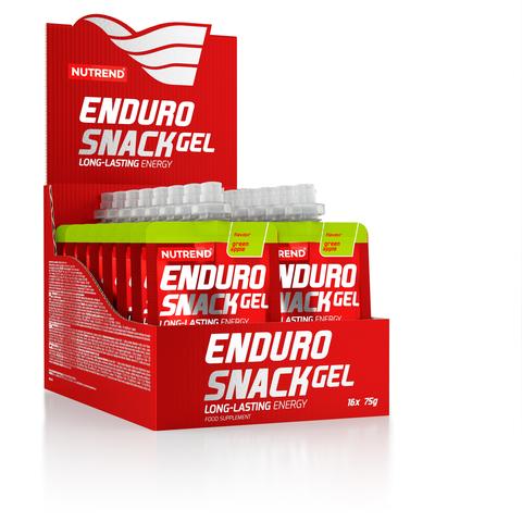 Nutrend ЭндуроСнек саше 75г/EnduroSnack sachet 75g (Зеленое яблоко)