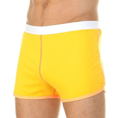 Мужские шорты домашние желтые Van Baam 39849