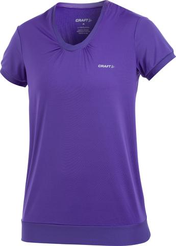 Футболка Craft Active Run Funk женская фиолетовая