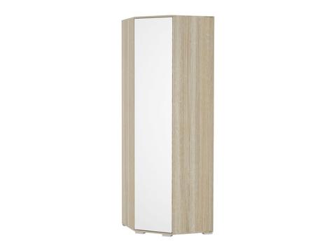 Шкаф угловой Терра ШК-824 Браво Мебель дуб сонома, белый глянец