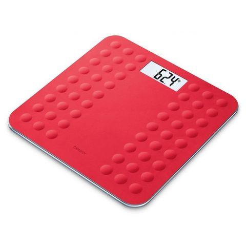Весы напольные электронные Beurer (B-GS300R) макс.180кг красный