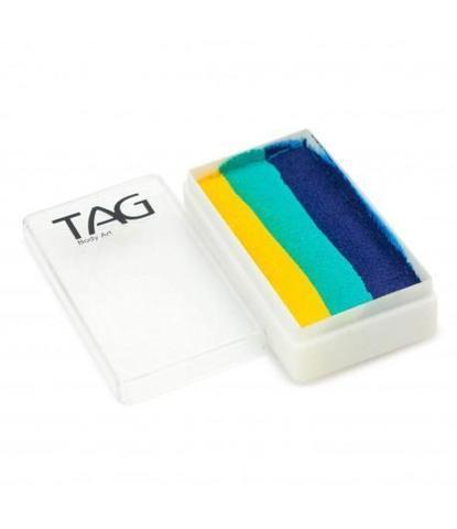 Аквагрим TAG 30 гр Сплит-кейк Бирюзовый лист