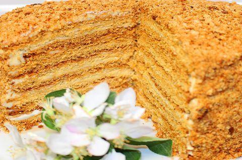 Торт «Медовик» без глютена
