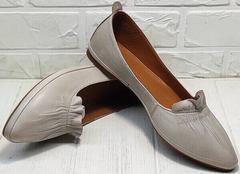 Женские туфли лодочки балетки летние Wollen G036-1-1545-297 Vision.